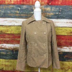 Vintage GAP Corduroy Jacket Size M Tan 100% Cotton